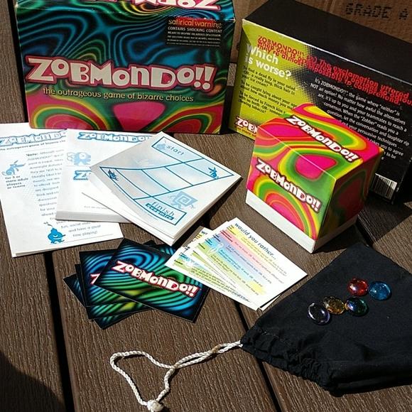 Zobmondo!! Game